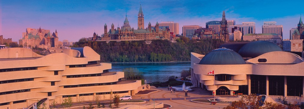 Ottawa-Gatineau Skyline and Parliament of Canada
