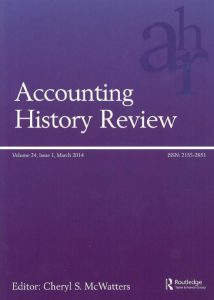 Accounting History Review Logo